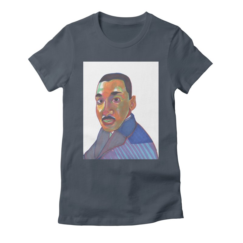 MLK Women's T-Shirt by birdboogie's Artist Shop