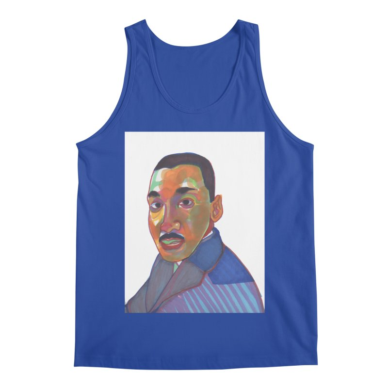 MLK Men's Regular Tank by birdboogie's Artist Shop