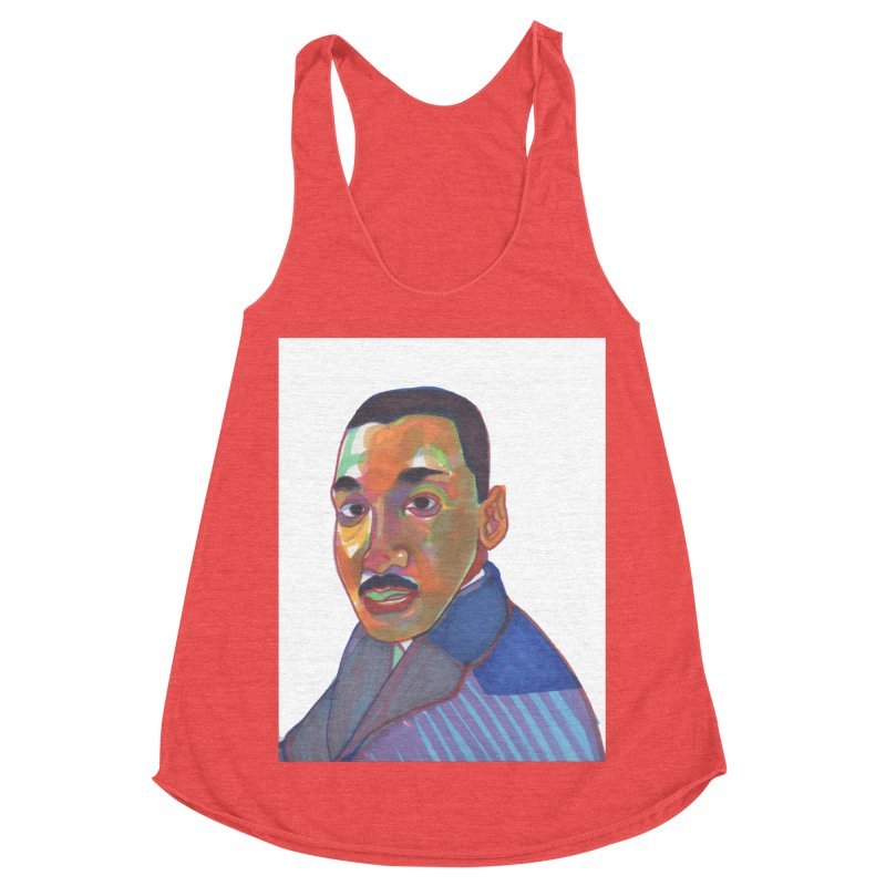 MLK Women's Tank by birdboogie's Artist Shop