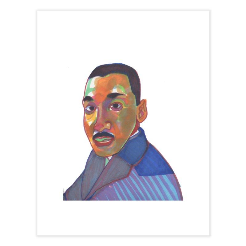 MLK Home Fine Art Print by birdboogie's Artist Shop