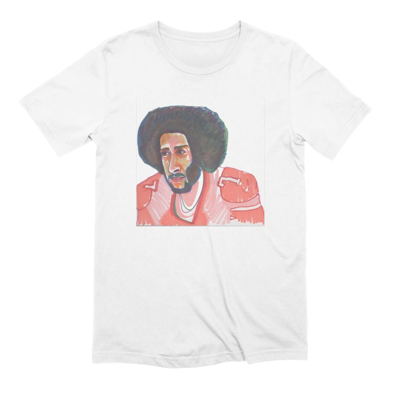 Kaep Men's Extra Soft T-Shirt by birdboogie's Artist Shop