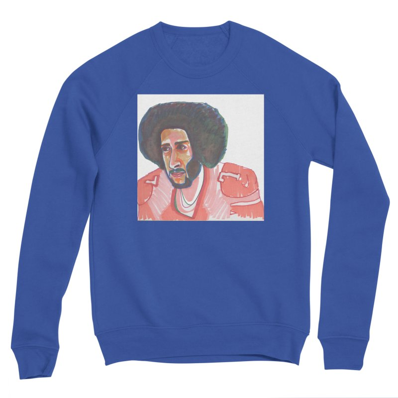 Kaep Men's Sweatshirt by birdboogie's Artist Shop
