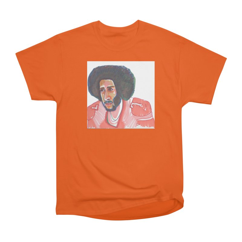 Kaep Men's Heavyweight T-Shirt by birdboogie's Artist Shop