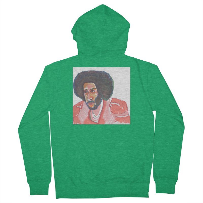 Kaep Men's Zip-Up Hoody by birdboogie's Artist Shop