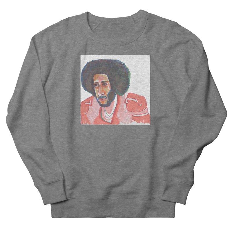 Kaep Men's French Terry Sweatshirt by birdboogie's Artist Shop