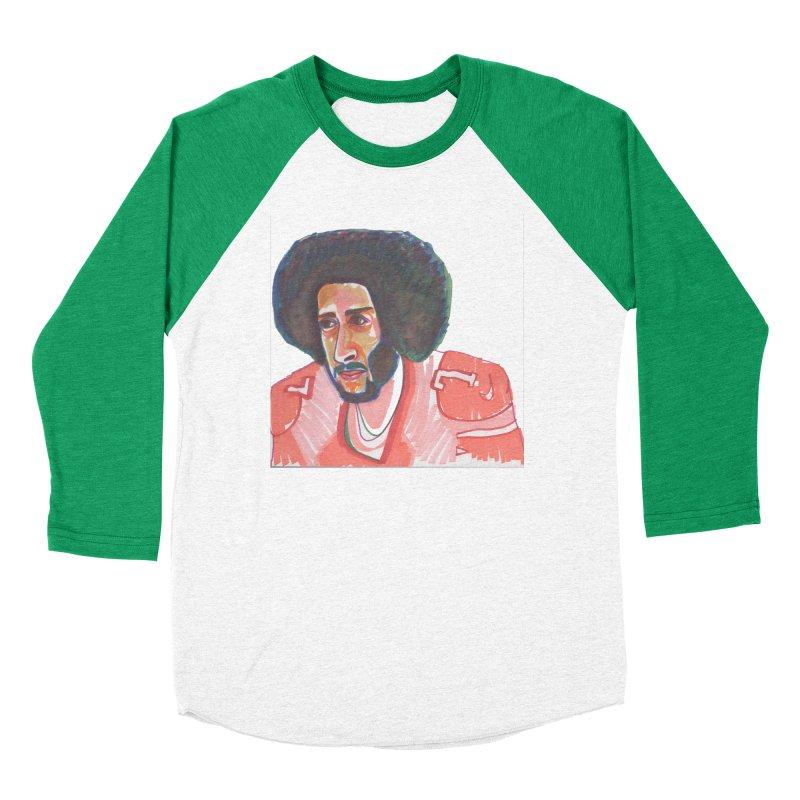 Kaep Women's Baseball Triblend Longsleeve T-Shirt by birdboogie's Artist Shop