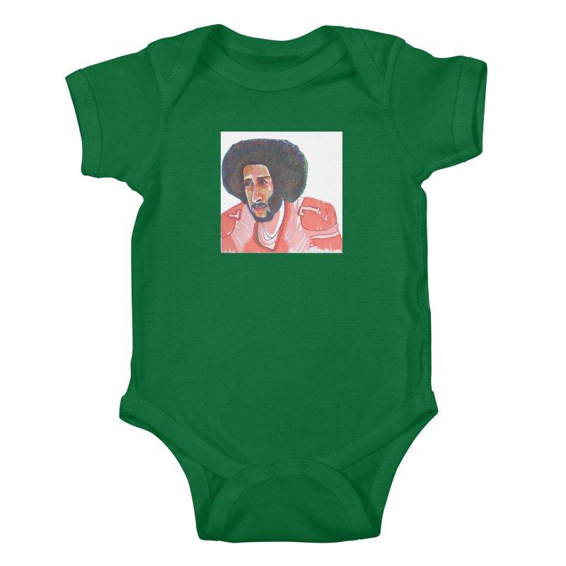 Kaep Kids Baby Bodysuit by birdboogie's Artist Shop