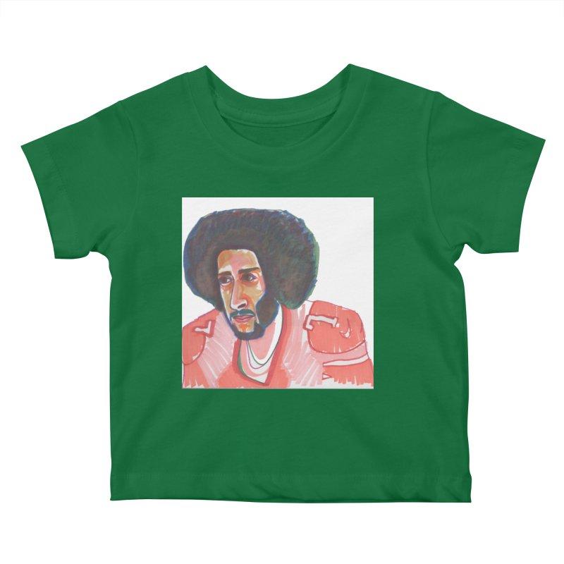 Kaep Kids Baby T-Shirt by birdboogie's Artist Shop
