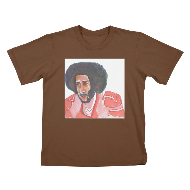Kaep Kids T-Shirt by birdboogie's Artist Shop