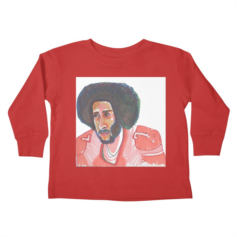 Kaep Kids Toddler Longsleeve T-Shirt by birdboogie's Artist Shop