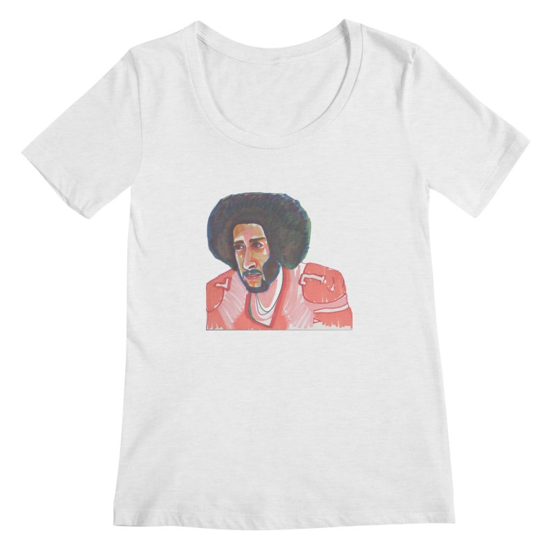Kaep Women's Scoop Neck by birdboogie's Artist Shop