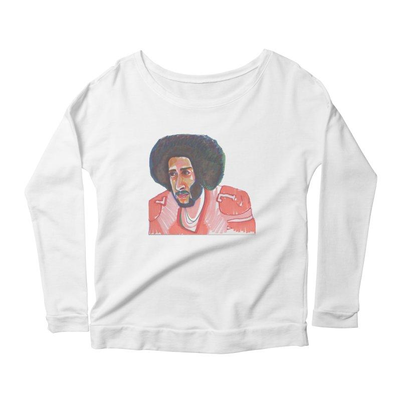 Kaep Women's Scoop Neck Longsleeve T-Shirt by birdboogie's Artist Shop