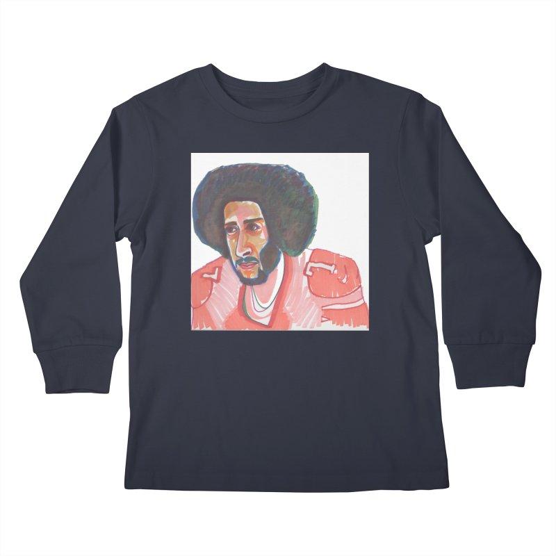 Kaep Kids Longsleeve T-Shirt by birdboogie's Artist Shop