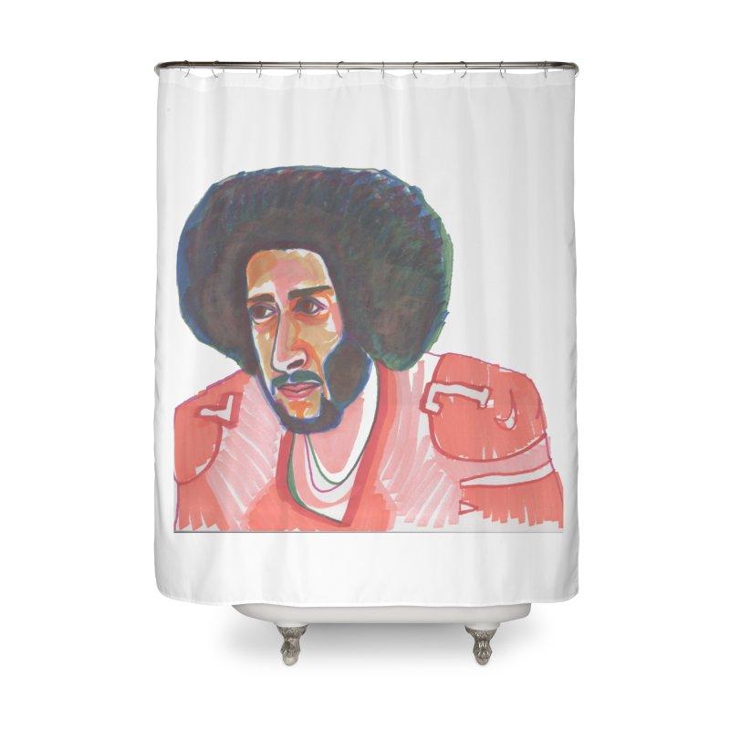 Kaep Home Shower Curtain by birdboogie's Artist Shop
