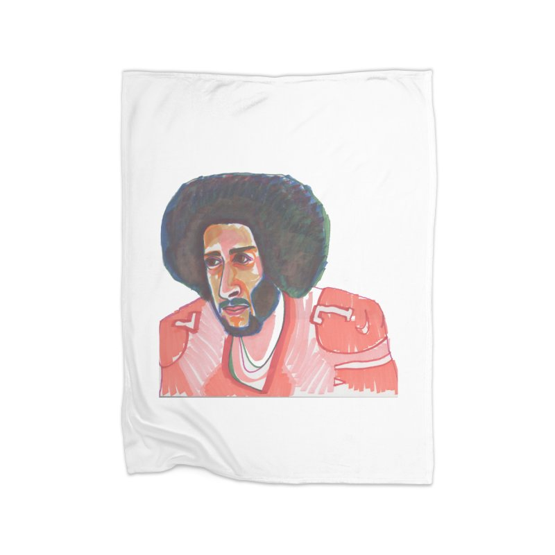 Kaep Home Fleece Blanket Blanket by birdboogie's Artist Shop