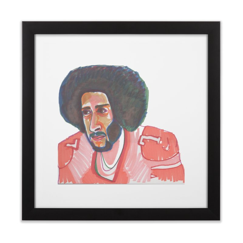 Kaep Home Framed Fine Art Print by birdboogie's Artist Shop