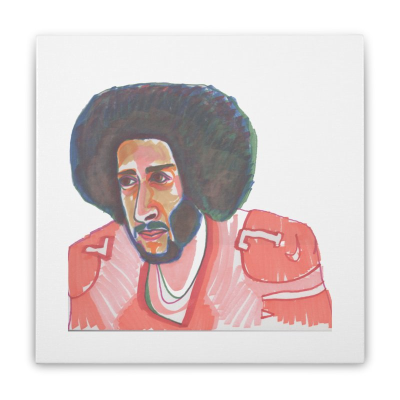 Kaep Home Stretched Canvas by birdboogie's Artist Shop
