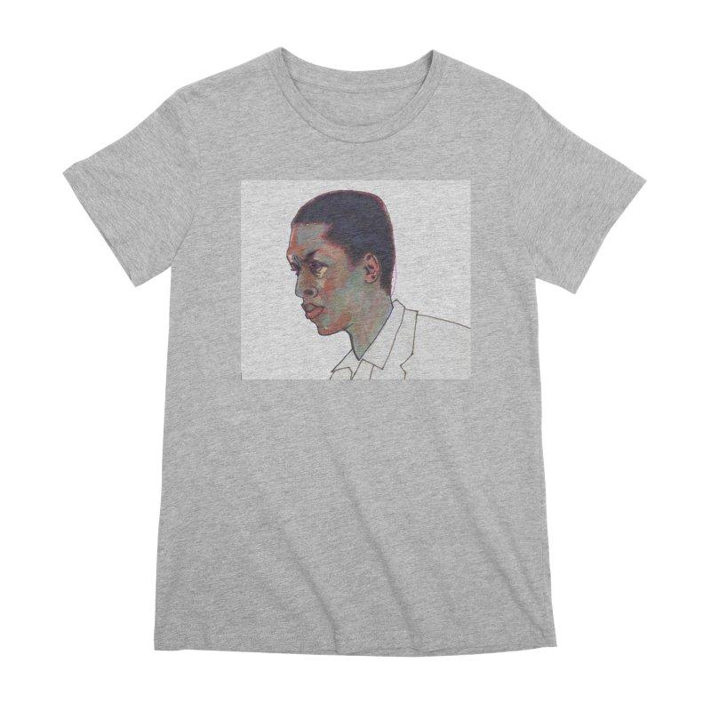 Trane Women's Premium T-Shirt by birdboogie's Artist Shop