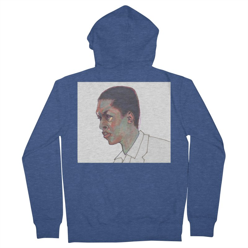 Trane Men's French Terry Zip-Up Hoody by birdboogie's Artist Shop