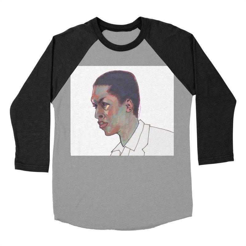 Trane Men's Baseball Triblend Longsleeve T-Shirt by birdboogie's Artist Shop