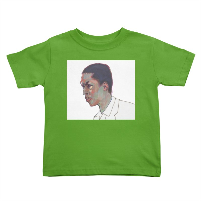 Trane Kids Toddler T-Shirt by birdboogie's Artist Shop