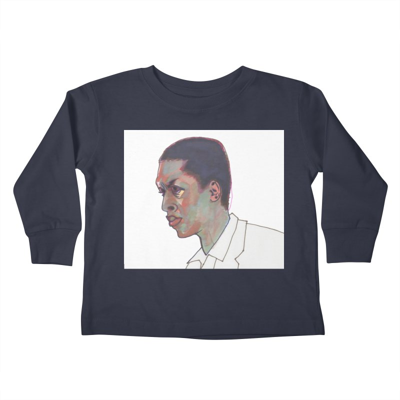 Trane Kids Toddler Longsleeve T-Shirt by birdboogie's Artist Shop