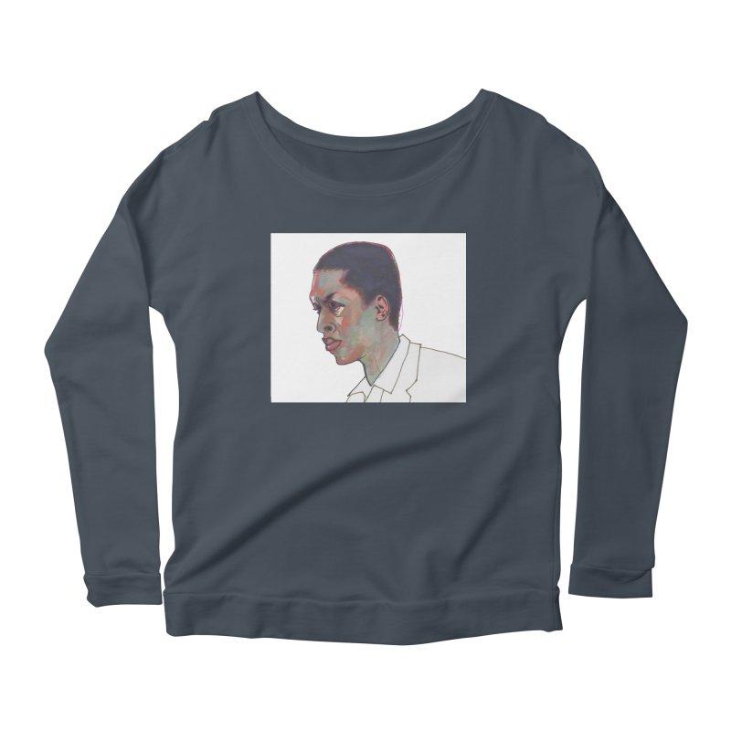 Trane Women's Scoop Neck Longsleeve T-Shirt by birdboogie's Artist Shop