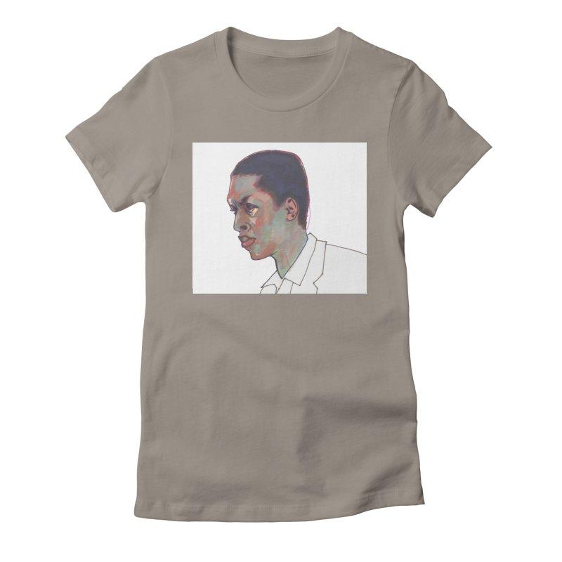 Trane Women's Fitted T-Shirt by birdboogie's Artist Shop