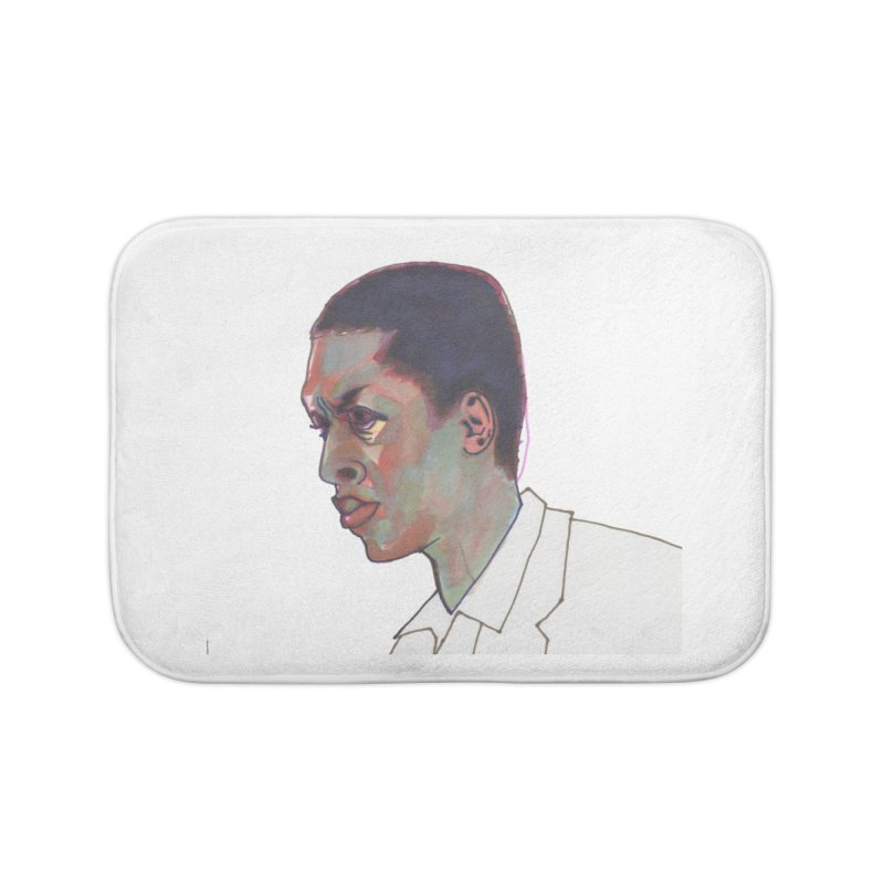 Trane Home Bath Mat by birdboogie's Artist Shop