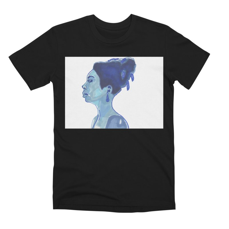 NINA Men's Premium T-Shirt by birdboogie's Artist Shop