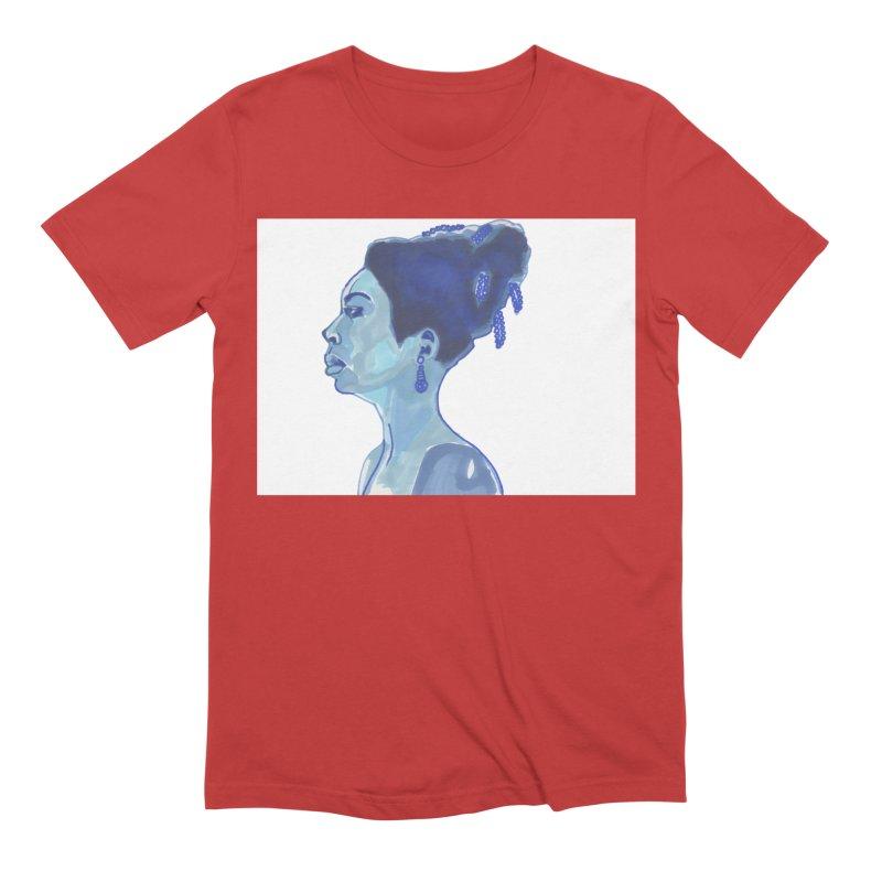 NINA Men's T-Shirt by birdboogie's Artist Shop