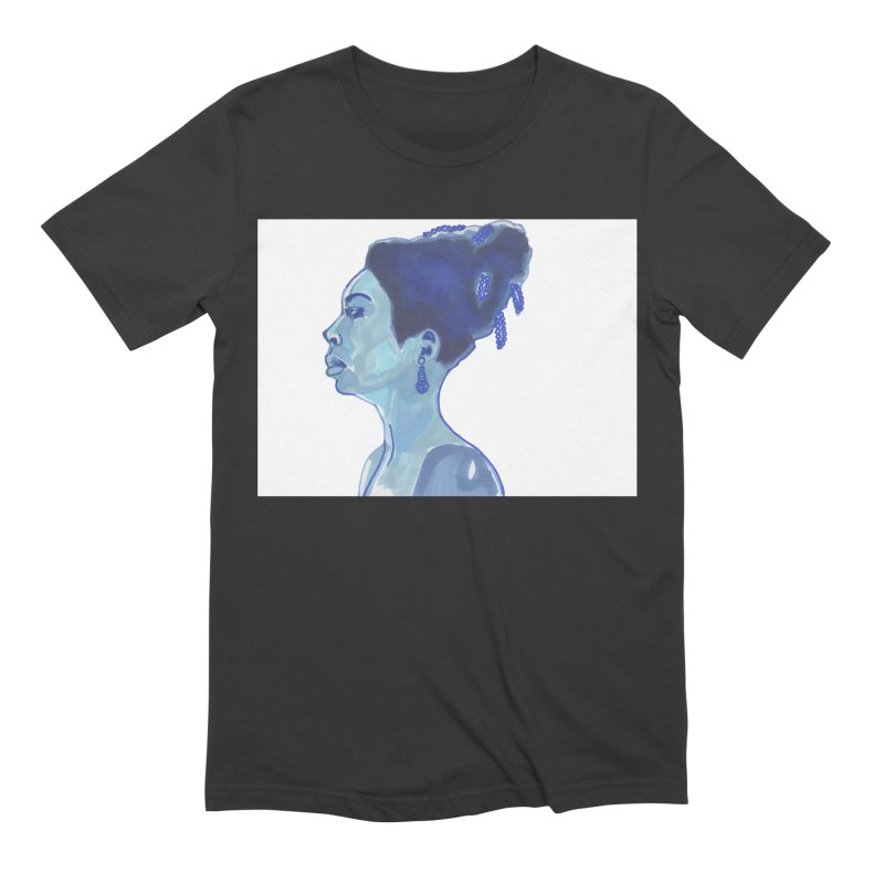 NINA Men's Extra Soft T-Shirt by birdboogie's Artist Shop