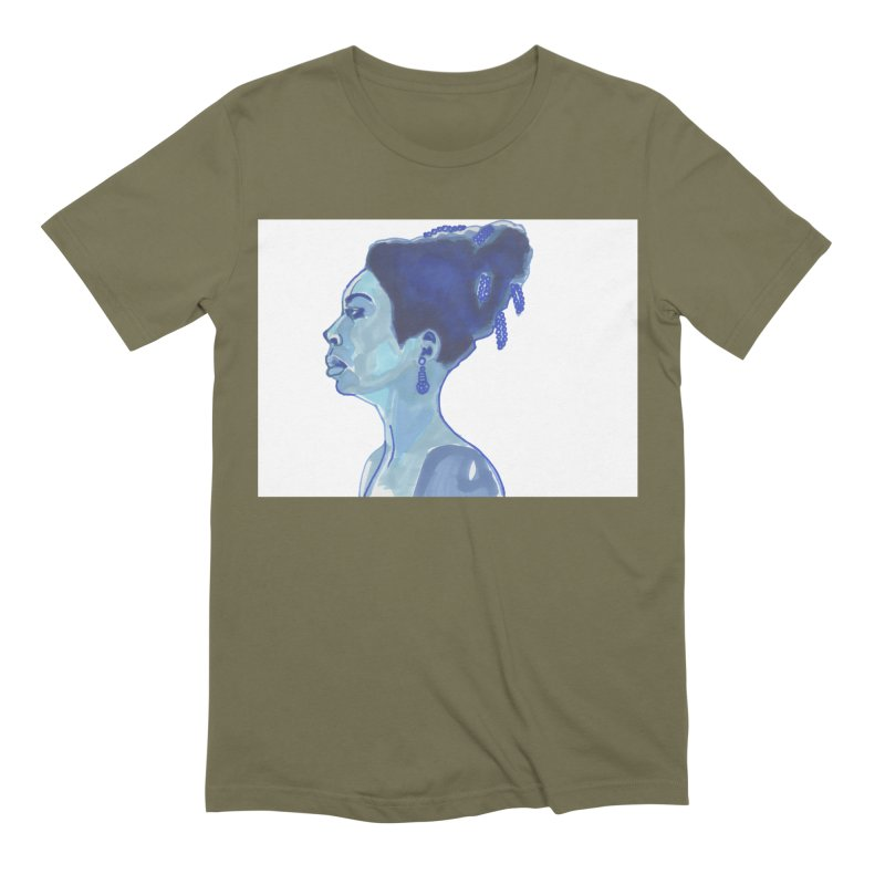 NINA Men's Extra Soft T-Shirt by birdboogie's Artist Shop