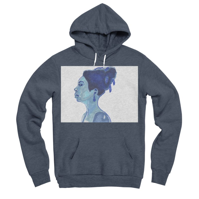 NINA Women's Sponge Fleece Pullover Hoody by birdboogie's Artist Shop