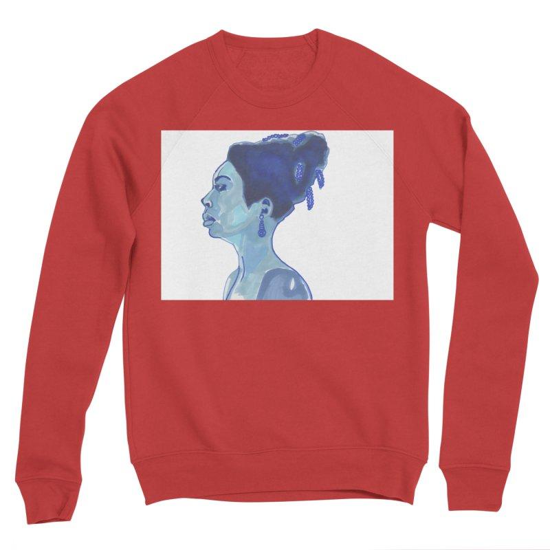 NINA Women's Sponge Fleece Sweatshirt by birdboogie's Artist Shop