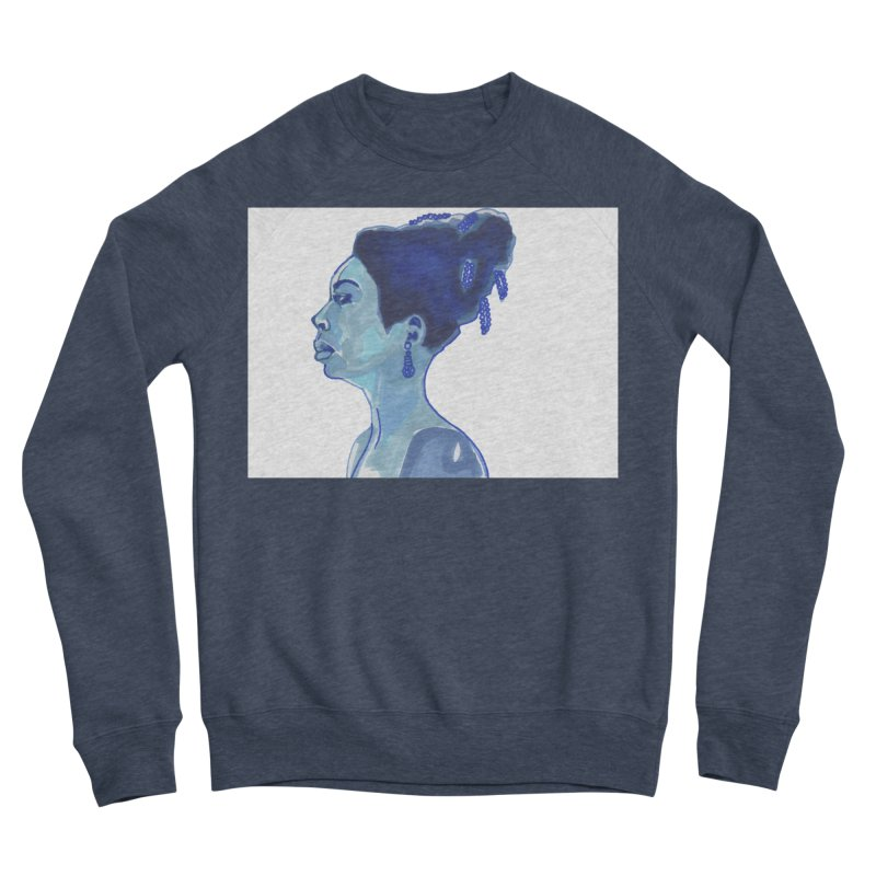 NINA Men's Sponge Fleece Sweatshirt by birdboogie's Artist Shop