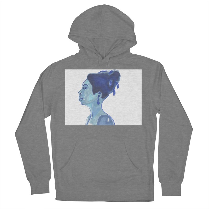 NINA Women's French Terry Pullover Hoody by birdboogie's Artist Shop