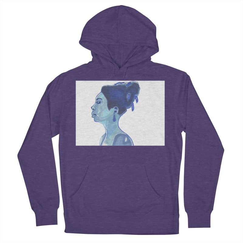 NINA Men's French Terry Pullover Hoody by birdboogie's Artist Shop