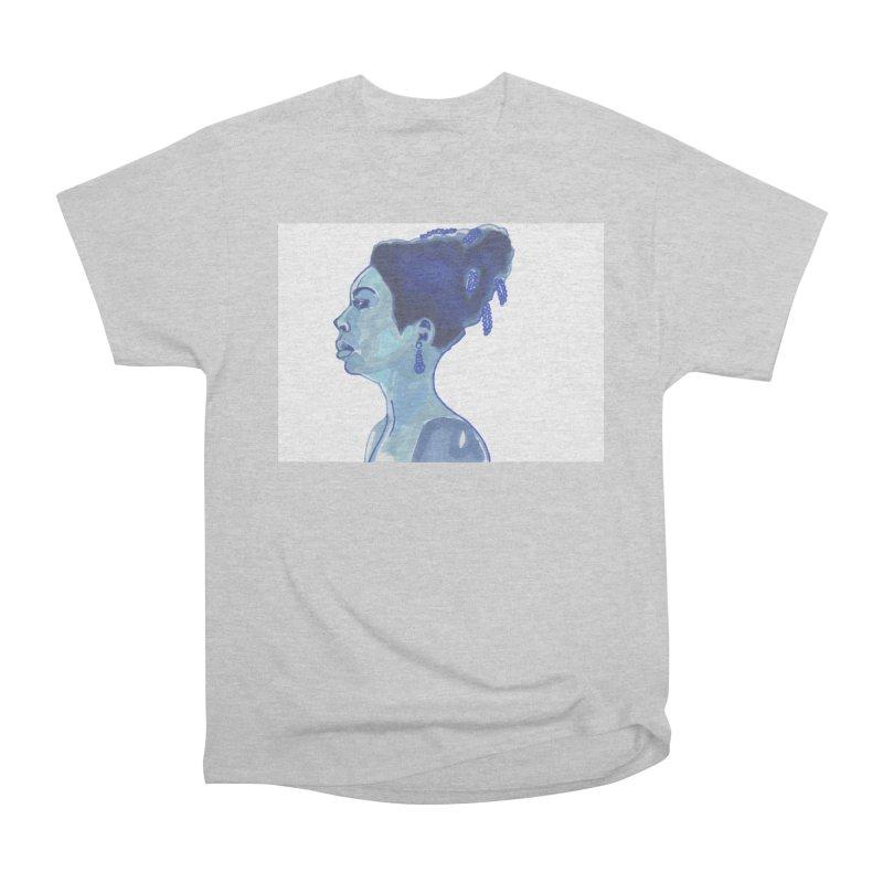 NINA Women's Heavyweight Unisex T-Shirt by birdboogie's Artist Shop