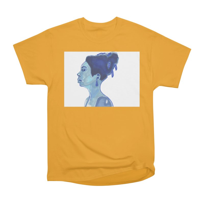 NINA Men's Heavyweight T-Shirt by birdboogie's Artist Shop