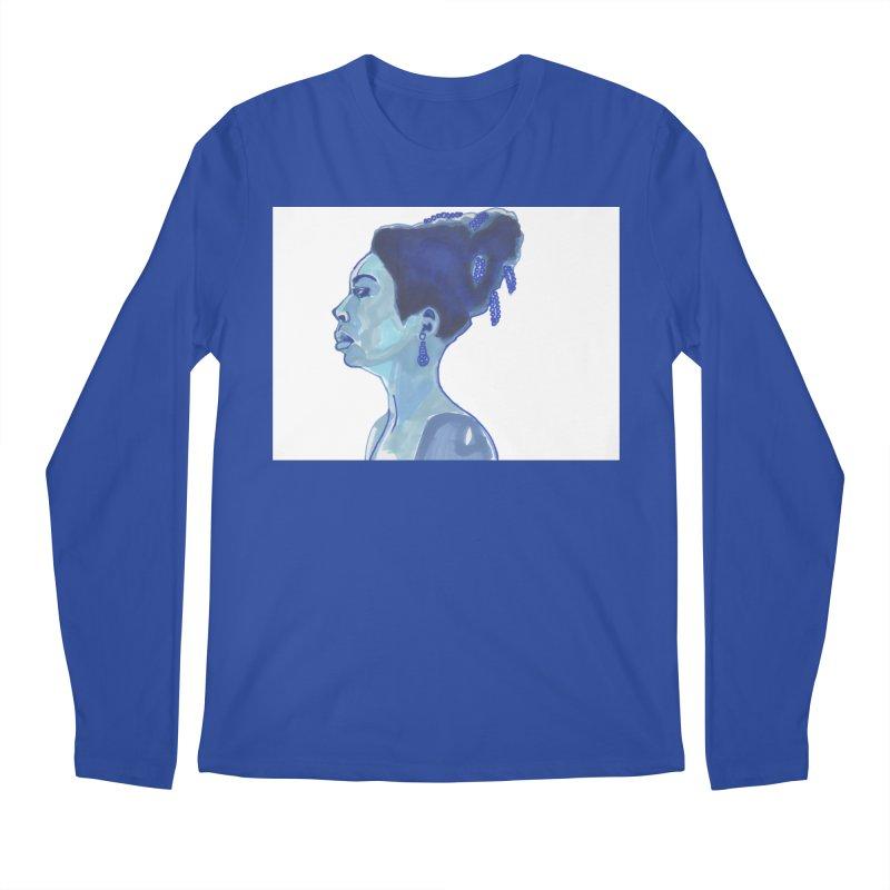 NINA Men's Longsleeve T-Shirt by birdboogie's Artist Shop