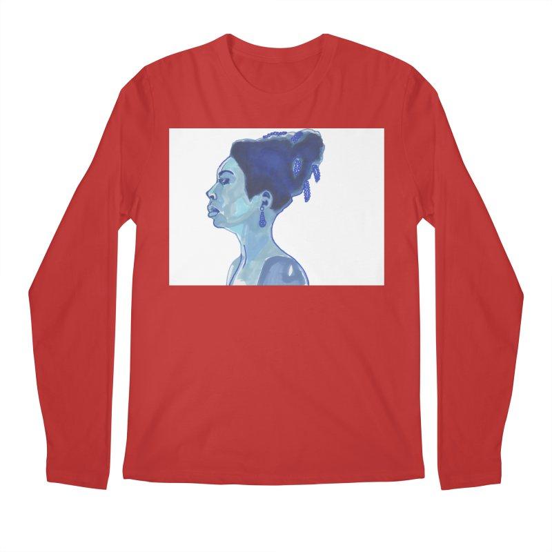 NINA Men's Regular Longsleeve T-Shirt by birdboogie's Artist Shop