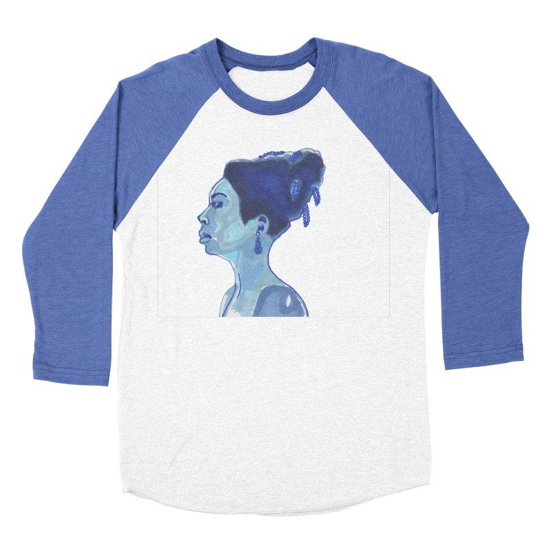 NINA Women's Baseball Triblend Longsleeve T-Shirt by birdboogie's Artist Shop