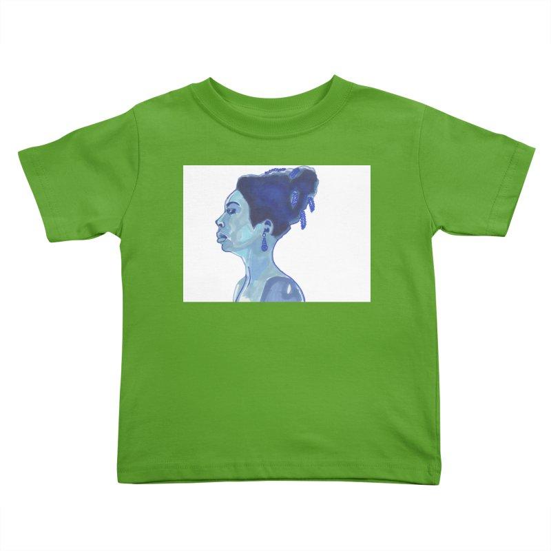 NINA Kids Toddler T-Shirt by birdboogie's Artist Shop