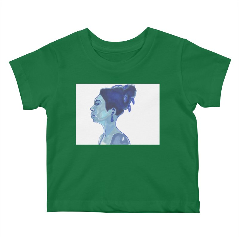 NINA Kids Baby T-Shirt by birdboogie's Artist Shop