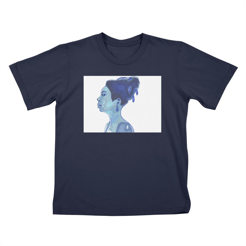 NINA Kids T-Shirt by birdboogie's Artist Shop
