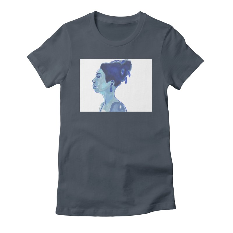 NINA Women's T-Shirt by birdboogie's Artist Shop