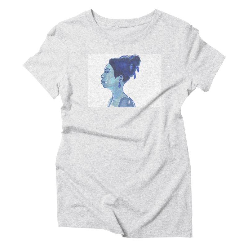 NINA Women's T-Shirt by birdboogie's Artist Shop
