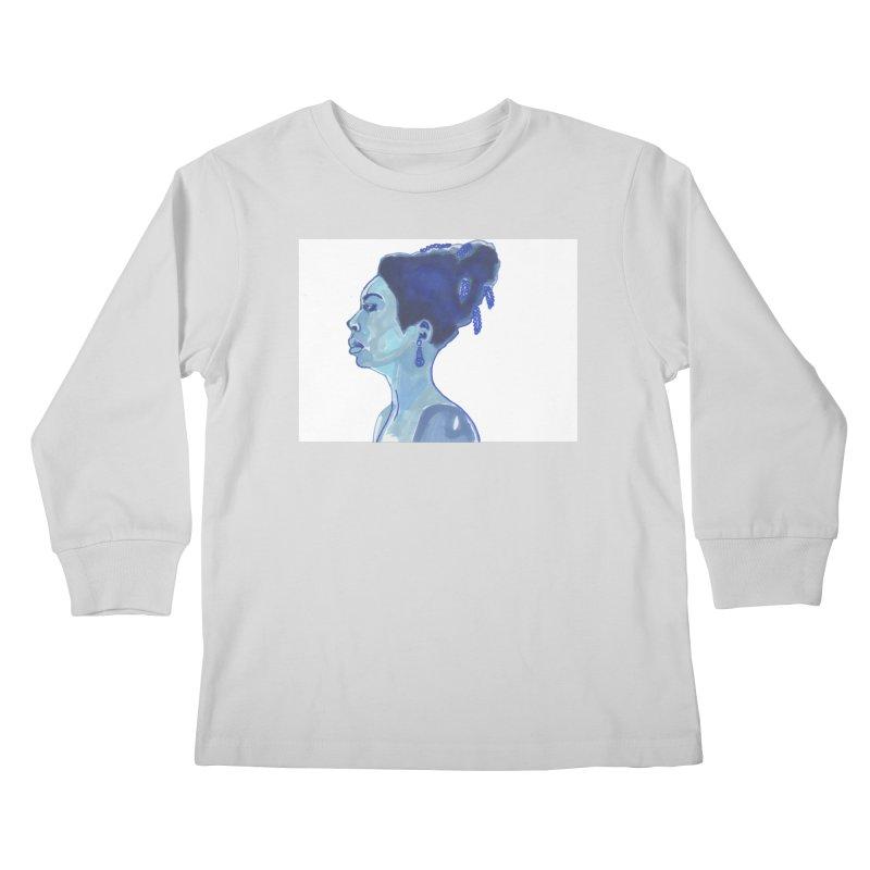 NINA Kids Longsleeve T-Shirt by birdboogie's Artist Shop