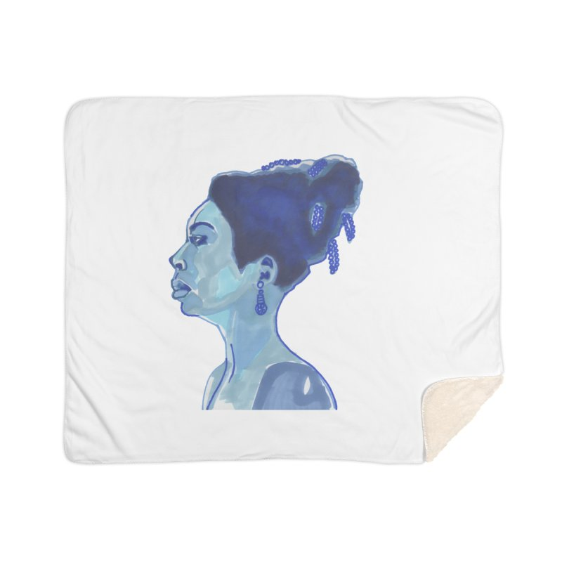 NINA Home Blanket by birdboogie's Artist Shop